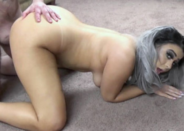 Logan nails curvy coed Mia Kay